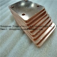Good quality purple copper bar custom size