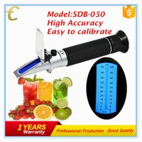 Hand held brix sugar Refractometer brix 0~50%