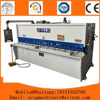 Sheet Metal Cutting Machine QC12Y-10*2500mm with good service