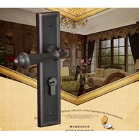 solid brass mortise door lock handle