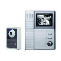 Wired 4inch B/W video intercom door phone cmos ccd