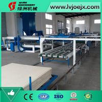 Economic Type Fireproof MgO Board Production Making Machinery