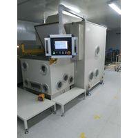 PCB vacuum hole plugging machine