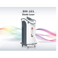 Professional Laser Hair Removal Machine / 808nm Diode Laser / 3000W 1-10 Hz