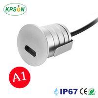 1W LED Step lighting Outdoor Step Lamp 12V 24V IP67 Mini LED Recessed Floor Deck light Waterproofr thumbnail image