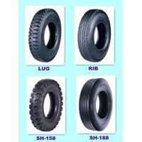 High Quality Bias Truck and Bus Tires Sh-118, Sh-128