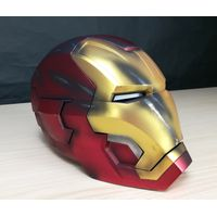 Halloween Party Masks remote control iron man helmet metal adult cosplay masque wearable mask thumbnail image