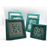 NEW arrival antique green photo frame, for tabletop and wall decorative