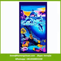 china manufacture wholesale cheap printed beach towel