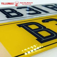 High Visibility Car Number License Plate Laminate Reflective Film VG8510 thumbnail image
