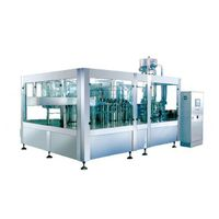 Containing gas filling machine