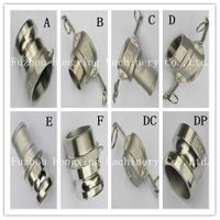 Stainless steel camlock coupling, quick coupling thumbnail image