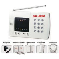 wireless 8 zones home alarm system(L&L-808B)