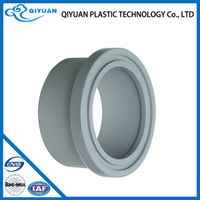 Plastic Pipe Fittings PVC Ts Flange Pvc Flange Fitting
