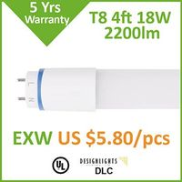 Nano-Plastic LED tube