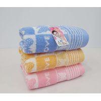 100% bamboo fiber face towel