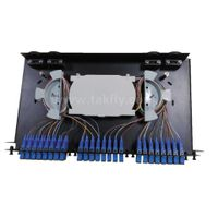 SC 48 Ports FTTH/FTTX Optical Rack Mounted Fixted Type ODF