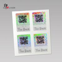 QR Code Adhesive Custom Holographic Labels thumbnail image