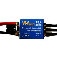 Brushless ESC for R/C helicopter (MT85A-SBEC) thumbnail image