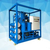 JUNSUN ZJA Series High Quality Double-Stage Vacuum Transformer Oil Purifier