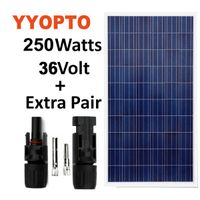 Roof top use poly solar panel 250W