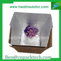 Frozen Packing Foil Bubble Insert To Keep Goods Fresh