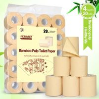 4 ply wholesale price bathroom bamboo toilet paper tissue paper thumbnail image