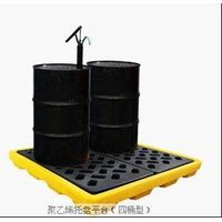 2 drum unit  Polyethylene spill tray  on sale