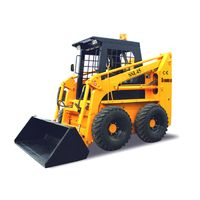 700kg loading capacity mini skid steer loader with attachments