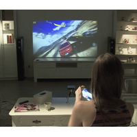 Wired plug&play HDMI home theater mini projector