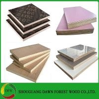 4ftx8ft poplar core melamine plywood for furniture cabinets