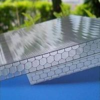 XINHAI 8mm honeycomb polycarbonate sheet for swimming cover