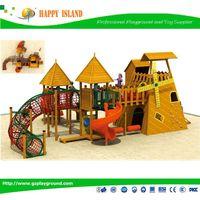 2015 Popular Food Grade Material Kids Outdoor Playground Used Amusement Equipment Playground Park