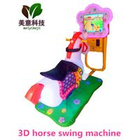 Children's amusement equipment Coin Operated horse Kiddie Rides with 17Video Game thumbnail image