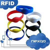 Colorful RFID wristband tag for access control thumbnail image