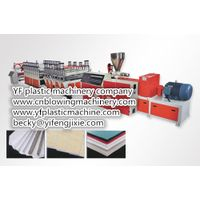 PVC board production line