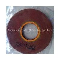 Low-e glass edge coating removal wheel film deletion wheel