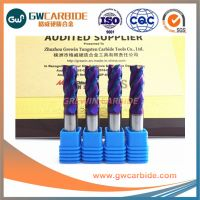 High speed steel milling cutter with HRC 45/50/55