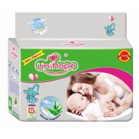 baby diaper, made of USA pulp with Japan SAP