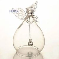 Clear Glass Angel Aeolian Bells TS023 thumbnail image