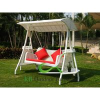 Patio Swings Outdoor Garden Wicker Swing