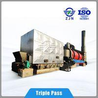 ZJN Series rotary harrow rolling triple level multi-loop dryer for Food Waste Dryer