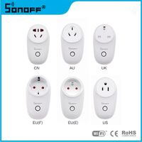 Sonoff S26 Wifi Wireless Smart Home Light Power Remote Control Switch wifi plug