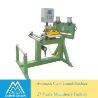 Automatic Abrasive Cloth/ Paper Cut To Length Machine thumbnail image