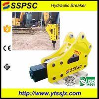 Excavator backhoe loader skid steer applicable breaker hammer