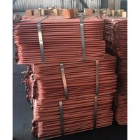 Copper Cathode Sheets 99.99% - 99.97% Purity for sale