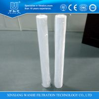 water filter element PP wound filter with high qulity
