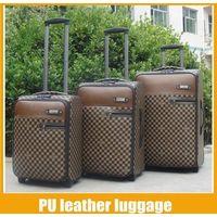 leather luggage set 3