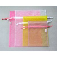 Colorful organza wedding gift bag