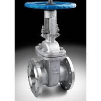 gate valve rising stem flange end